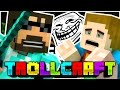 Minecraft | SSUNDEE THREATENS ME TROLL?! - Troll Craft