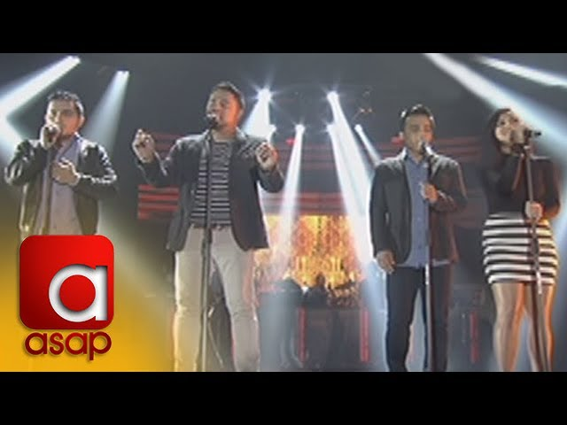 ASAP: Jed Madela with TNT singers