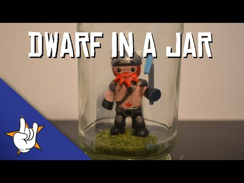 How to make a dwarf in a jar