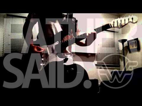 Father Said (Skrillex Studio Guitar Cover) - Wombat Fusion