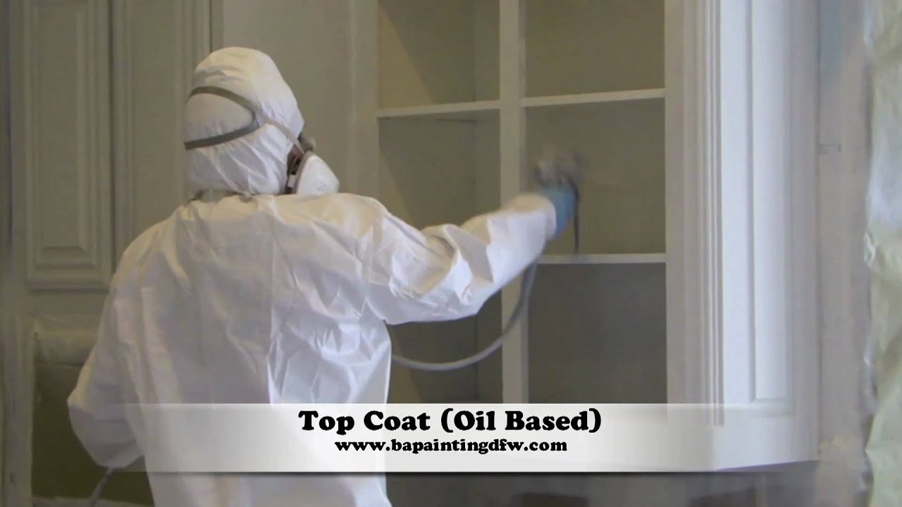 Spray Paint Inside Of Kitchen Cabinets