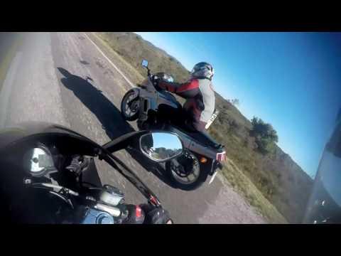 Megelli 250r y Kawasaki 250 Ex-f7f Ninja - Viaje Minas-Piriápolis (Uruguay)