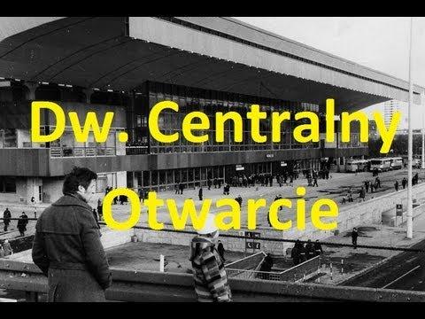 [WFDiF] Edward Gierek Otwiera Dworzec Centralny W Warszawie