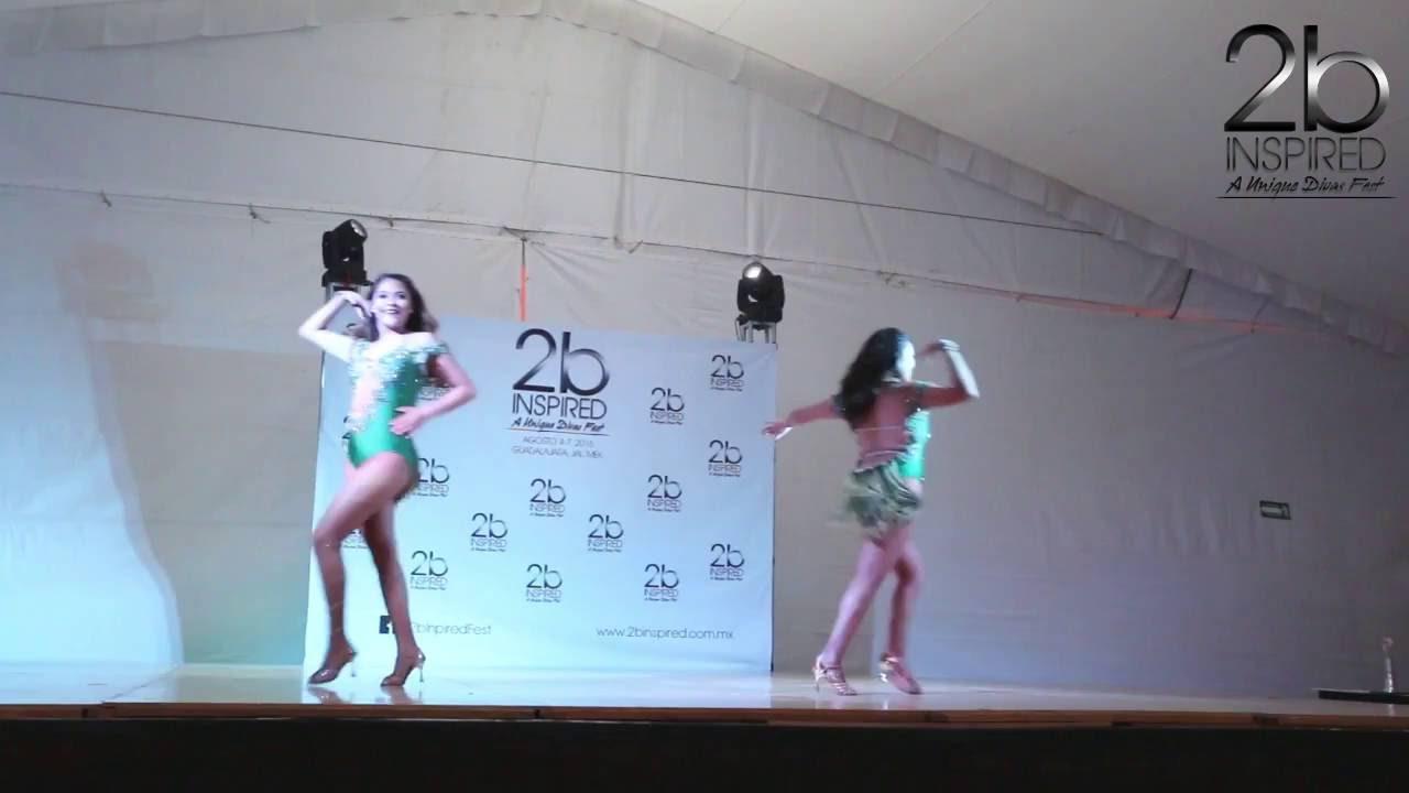 Angie Morales & Kary Garcia | 3er Lugar, Salsa Dueto | 2b Inspired 2016