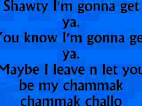 Chamak Challo By Akon (lyrics) video
