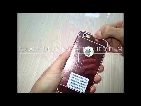 "(bigstore-sales)Luxury Aluminum Mirror Metal Case Cover for For Apple iPhone 6/6S 4.7"" Plus 5.5"""