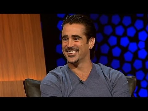 'I'll be your yoga mat!' - Colin Farrell | The Late Late Show