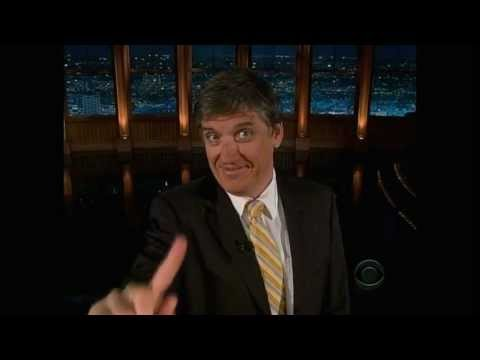 Craig Ferguson - Air Travel Rant & Baltimore Love, Nov 2008