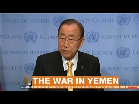 Ban Ki-moon says Saudis pressured him over inclusion in Yemen children report