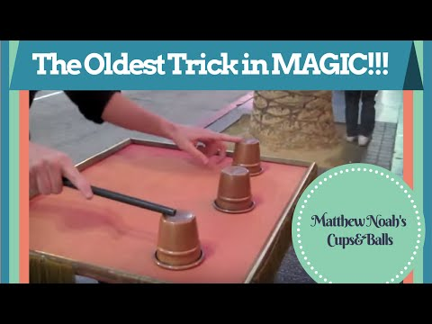 Magic: Cups and Balls: Matthew Noah on Hollywood blvd