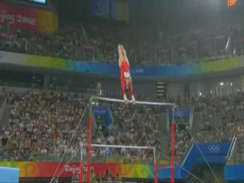 Bridget Sloan - 2008 Olympic Games - Qualifications Uneven Bars