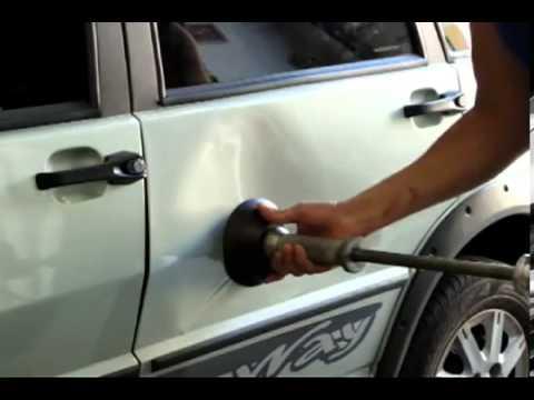 Вытянуть вмятины на машине своими руками