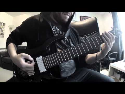 MONUMENTS - DENIAL (Guitar Playthrough)