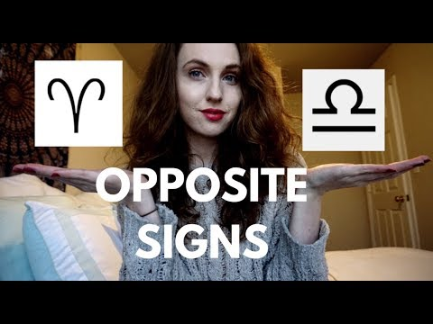 OPPOSITE SIGNS | Aries & Libra | Hannah's Elsewhere