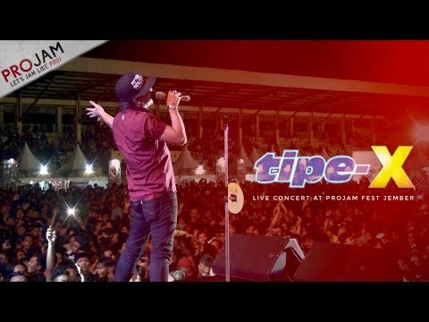 tipe-X Live Jember 2016 (PROJAM FEST 2016)