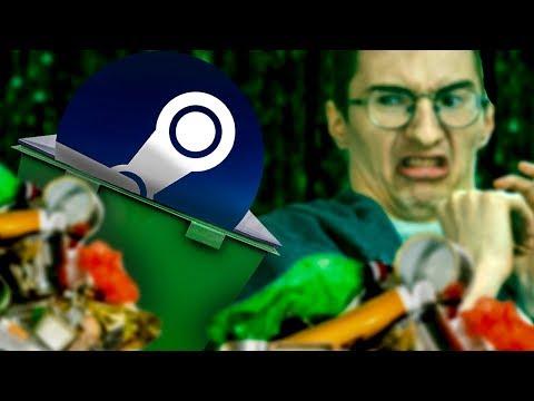 Steam - ПОМОЙКА, а игры там - ещё хуже