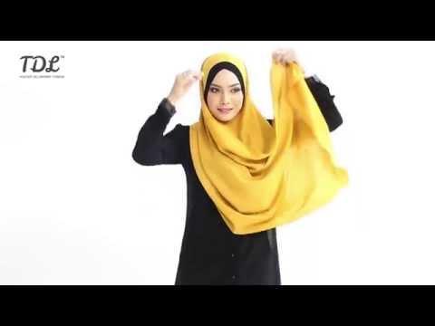 Dua Cara Menggayakan Shawl Sephia V2 Oleh Tdl video