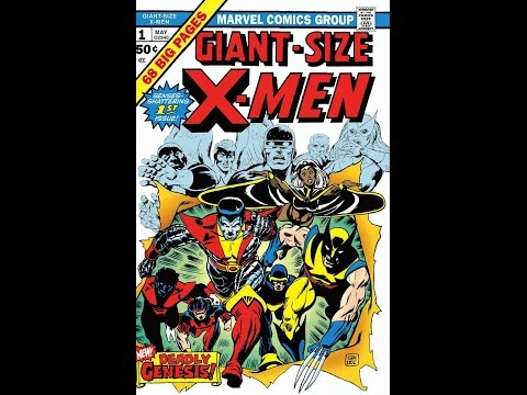 Giant Size X-Men #1  Pressing/Cleaning Comicbooks