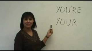 Confused Words - YOU'RE & YOUR