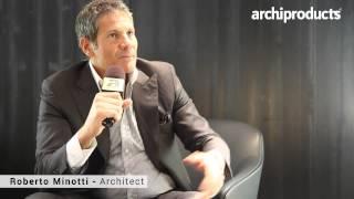 MINOTTI | Roberto Minotti | Archiproducts Design Selection - Salone del Mobile Milano 2015