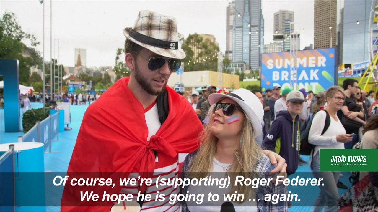 Excitement is in the air at the Australian Open