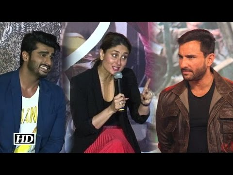 Saif will divorce me for Kissing Arjun Kapoor: Kareena