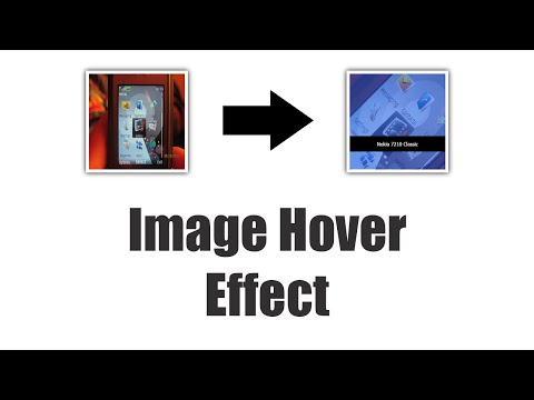 CSS Animation Tutorial 6 | Image Hover Effects | Styling Transparent Surface