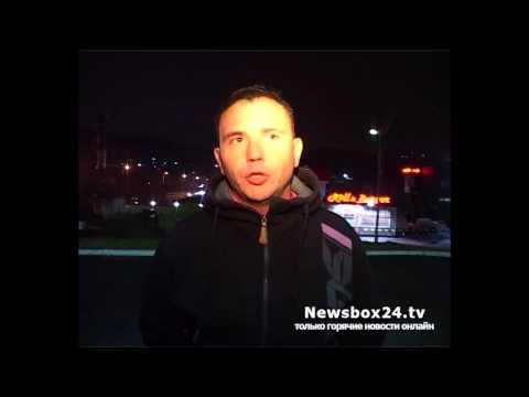 гонщик устроил безумный дрифт на одной из центральных улиц Владивостока
