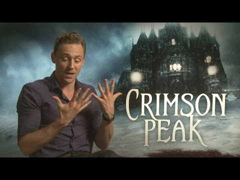 Tom Hiddleston talks about his 'big hands' in Crimson Peak interview