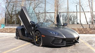 Living With A Lamborghini Aventador!