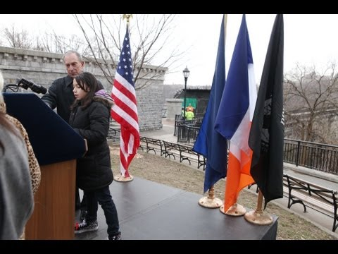 Mayor Bloomberg Breaks Ground on Project to Restore the High Bridge Over Harlem River