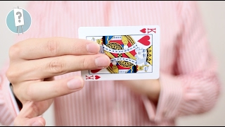 Snap Change Card Trick Tutorial // VISUALLY change a card