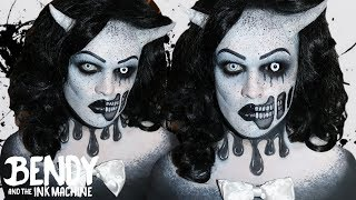 Alice Angel - Bendy and the Ink Machine Makeup Tutorial!