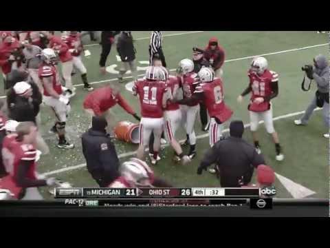 2012 Ohio State Football - A Perfect Season in 3 Minutes