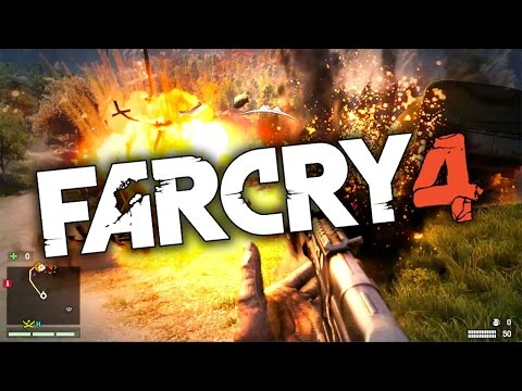 Far Cry 4 Gameplay: Free Roam Exploring Part 1! (Early Access Exclusive)
