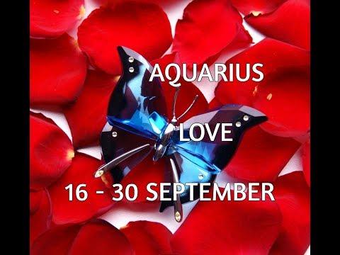 AQUARIUS LOVE & RELATIONSHIP 16-30 September 2017 In-Depth Tarot