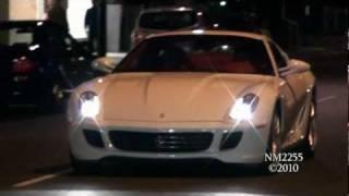 Ferrari 599 GTB Redline Revs and Accelerations!