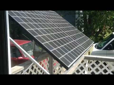 New 24V Photovoltaic Solar Inverter System Setup