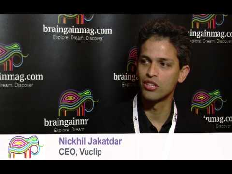 Vuclip Ceo Nickhil Jakatdar Chats With Braingainmag video