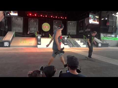 Pro Skateboarding Competition with Nyjah Huston Chris Cole Micky Papa and more!