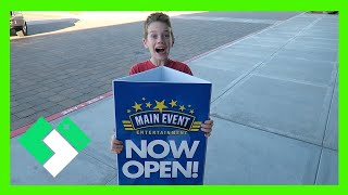 MAIN EVENT AVONDALE NOW OPEN!!! (2.20.16 - Day 1421) | Clintus.tv