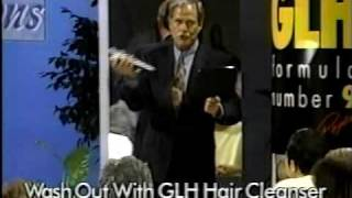 1990's INFOMERCIAL HELL #18: Ron Popeil spray paints his head with GLH
