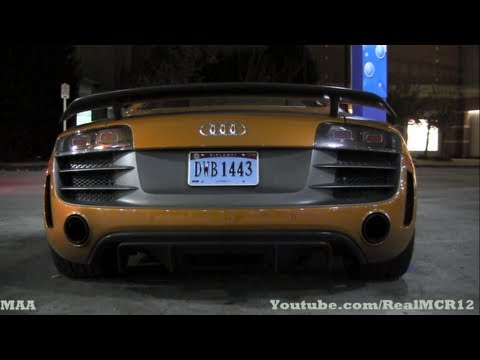1250 HP Underground Racing Twin Turbo Audi R8 GT