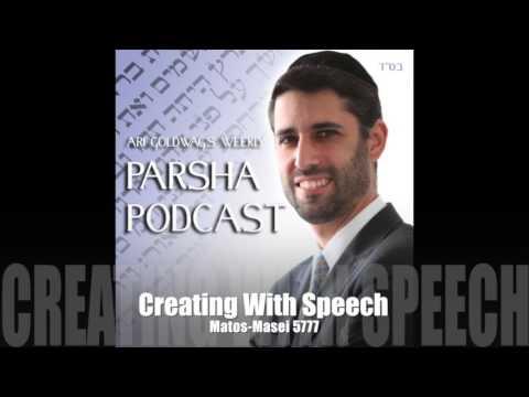 Ari Goldwag - Matos-Masei - Creating With Speech