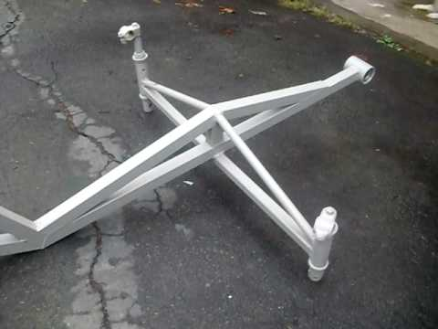 How To Build The Tricycle Recumbent Type Bike Part 1