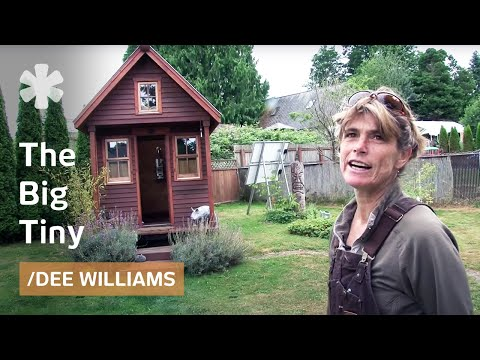 Micro-homesteading in WA with 10K microhome (84 sq ft) in friends