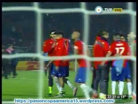 (Relato Enojado) Chile 1 Uruguay 0 (Relato Maximo Goñi) Copa America 2015