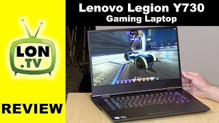 "Lenovo Legion Y730 Gaming Laptop Review - 15"" With Hexacore i7 and GTX 1050Ti"