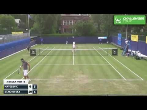 Broady And Stakhovsky Dive Volley Hot Shots At Manchester Challenger 2016