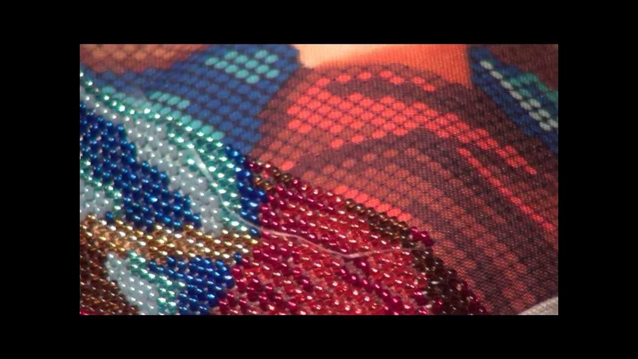 Вышивка бисером новые ролики 47